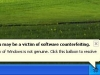 Window Genuine Advantage Notification