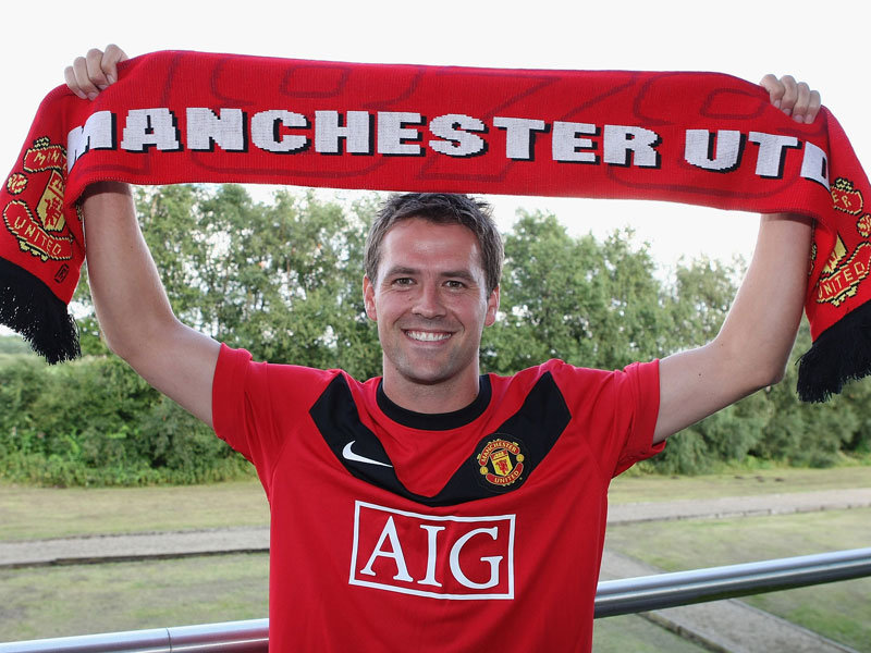 Manchester United - Michael Owen