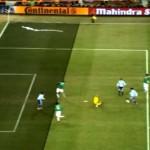 阿根廷明显越位进球