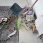 瓷砖修理垃圾