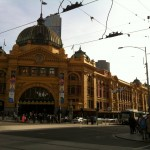 Melbourne: Flinders Street Station