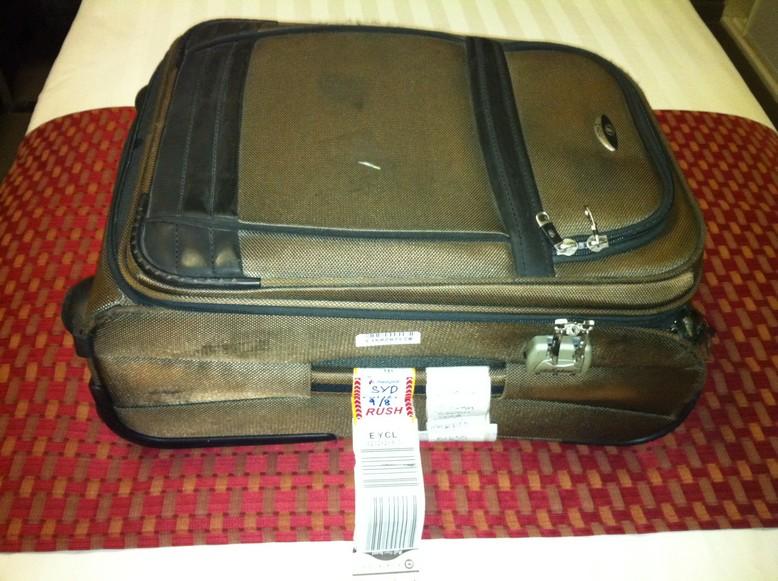 失散24小时的行李