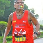在最后1.5km鼓励我的跑者Mohan