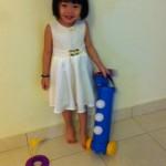 爸爸送给Chloe的生日礼物: Mini Golf Set