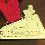 PJ Dawn 2012奖牌