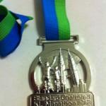 Standard Chartered Kuala Lumpur Marathon 2012 Medal