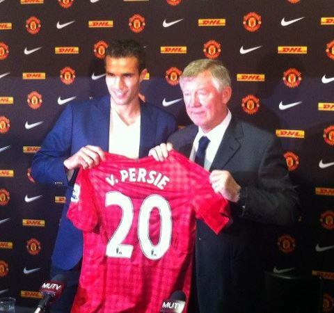 Manchester United: Robin Van Persie 20