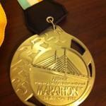 Allianz Penang Bridge International Marathon奖牌